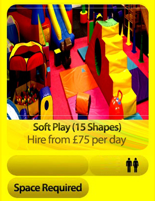Soft Play Arena 15 Shapes