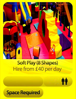 Soft Play Arena 8 Shapes