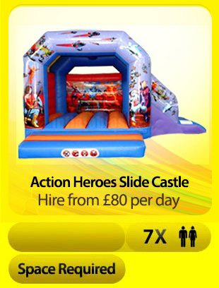 Action Heroes Slide Castle