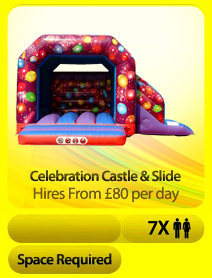 Celebration Castle With Slide