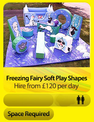Freezing Fairy Tale Soft Play Shapes