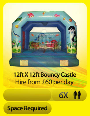 12ft Underwater bouncy castle
